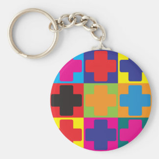 Medical Assisting Pop Art Keychain