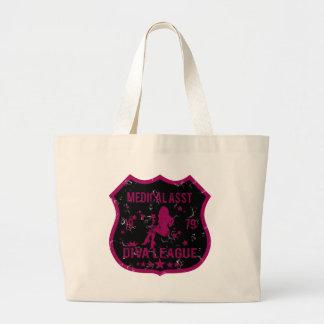 Medical Asst Diva League Large Tote Bag