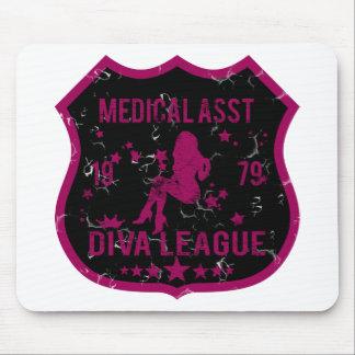 Medical Asst Diva League Mouse Pad
