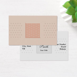 Medical Band-Aid Plaster - Business Card