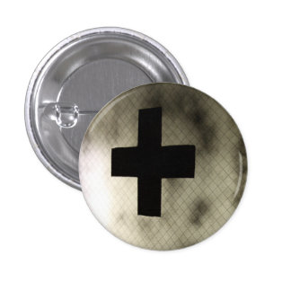 Medical Button, Small, 1¼ Inch 1 Inch Round Button