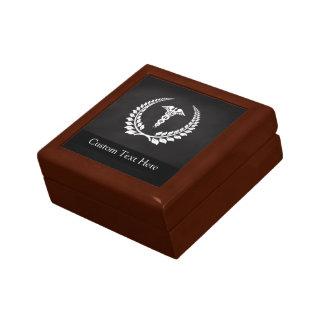 Medical Caduceus Laurel Gift Box