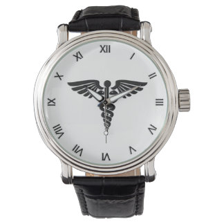 Medical Caduceus Personal Watch