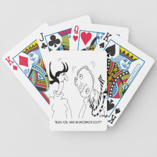 Medical Cartoon 6607 Bicycle Playing Cards