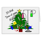 Medical christmas Tree Gifts--Funny Card