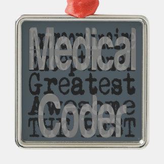 Medical Coder Extraordinaire Metal Ornament