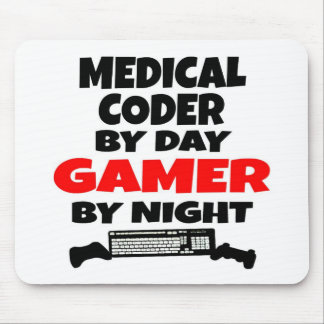 Medical Coder Gamer Mouse Pad