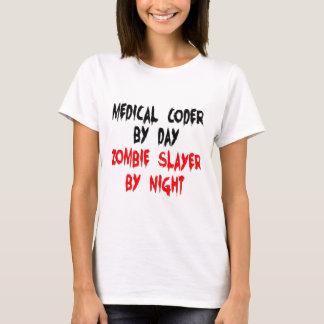 Medical Coder Zombie Slayer T-Shirt