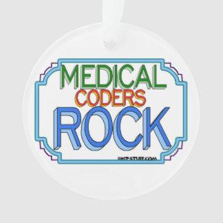Medical Coders Rock Ornament