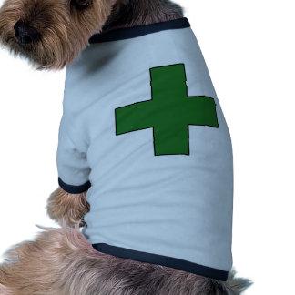 Medical Cross Medical Life Saving Guard Symbol Pet Shirt