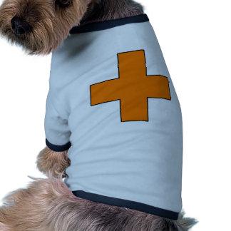 Medical Cross Medical Life Saving Guard Symbol Dog Clothes