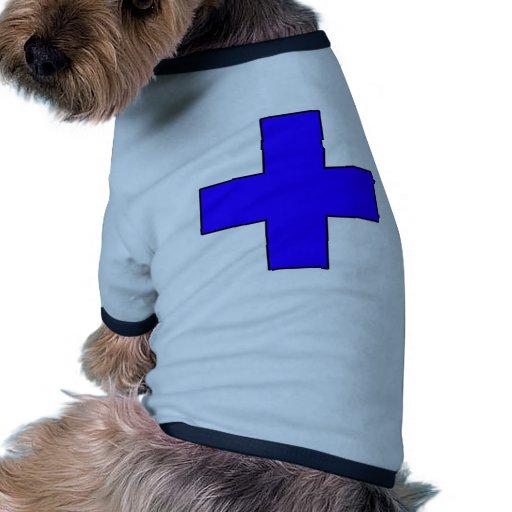 Medical Cross Medical Life Saving Guard Symbol Dog Tee Shirt