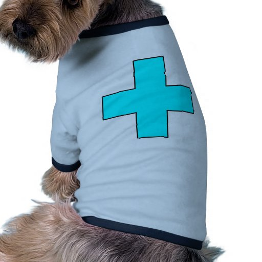 Medical Cross Medical Life Saving Guard Symbol Pet T-shirt