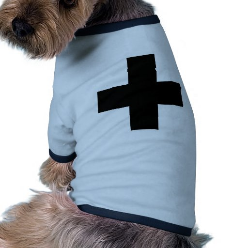 Medical Cross Medical Life Saving Guard Symbol Doggie T Shirt