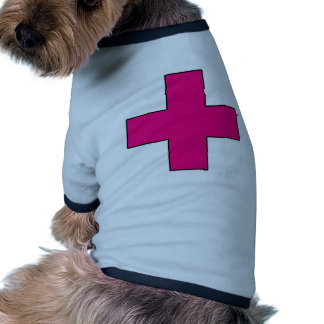 Medical Cross Medical Life Saving Guard Symbol Pet Clothing