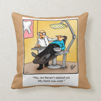Medical/Dental Humor Pillow Gift