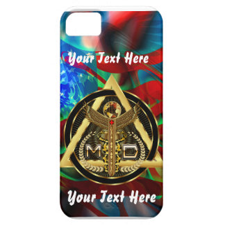 Medical Doctor Logo Universal VIEW ABOUT Design iPhone 5 Case