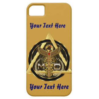 Medical Doctor Logo Universal VIEW ABOUT Design iPhone 5 Cover