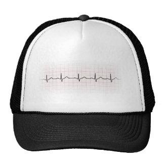 Medical EKG heart beating, for doctor or nurse Trucker Hat