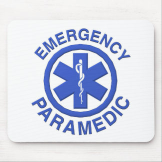 Medical Emergency Paramedic Mouse Pad