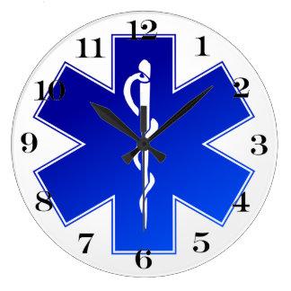 Medical EMS Symbol Wallclocks