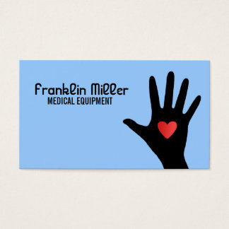 Medical Equipment Business Cards