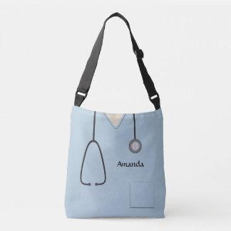 Médical frotte l'infirmière AOPMCBB bleu-clair Sac Ajustable