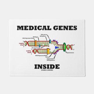 Medical Genes Inside DNA Replication Genetics Doormat
