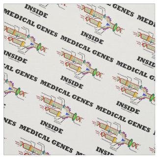 Medical Genes Inside DNA Replication Genetics Fabric