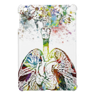 Medical Gifts Heart and Lungs Motif iPad Mini Case
