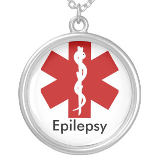 Medical ID Alert Necklace - Epilepsy