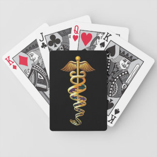 Medical Insignia Bicycle Playing Cards