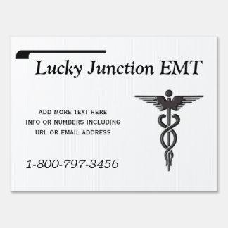 Medical Insignia Caduceus Yard Sign