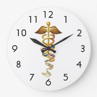 Medical Insignia Clock