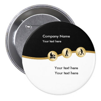 Medical Mobility Promotional Buttons