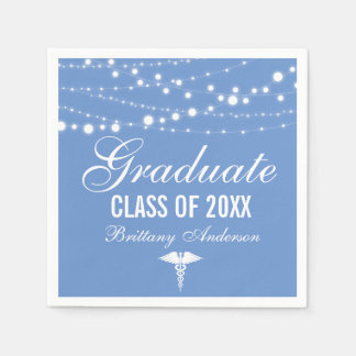 Medical or Nursing School Graduation Party Paper Napkins