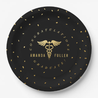 Medical or Nursing School Graduation Party Plates