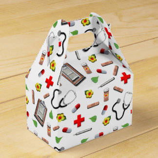 Medical Party Party Favor Box