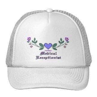 Medical Receptionist CS Print Trucker Hat