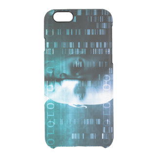 Medical Research in Genetics and DNA Science Clear iPhone 6/6S Case
