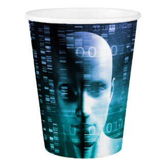 Medical Research in Genetics and DNA Science Paper Cup
