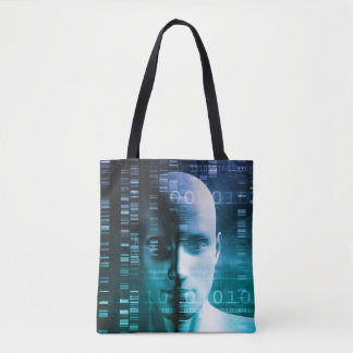Medical Research in Genetics and DNA Science Tote Bag