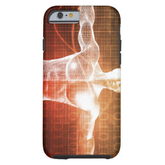 Medical Research on the Human Body as Concept Tough iPhone 6 Case
