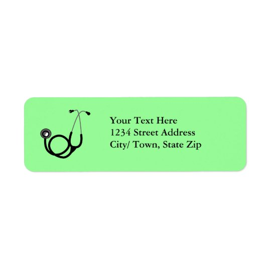 Medical Return Address Label