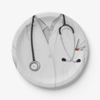 Medical School Graduation 7 Inch Paper Plate