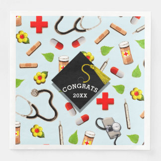 Medical School Graduation Disposable Napkin