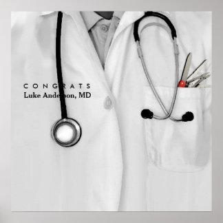 Medical School Graduation Poster