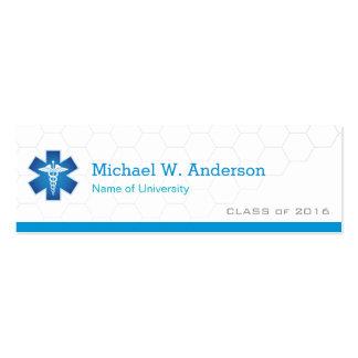 Medical School Student Graduation Name Card