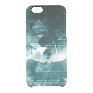Medical Science Futuristic Technology as a Art Clear iPhone 6/6S Case