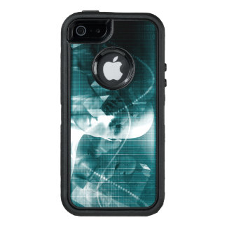 Medical Science Futuristic Technology as a Art OtterBox Defender iPhone Case
